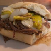 Dripping Au Jus Beef Sandwich (Crockpot)