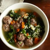 ITALIAN WEDDING SOUPWITH ESCAROLE