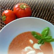 Tomato & Basil Pesto Soup, Made Easy