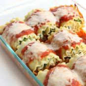Healthy Spinach Lasagna Rolls -WW