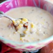 Corn Chowder w/Chilies