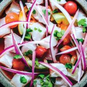 Sea Bass & Tomato Ceviche