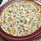 White Cheese and Sausage Dip