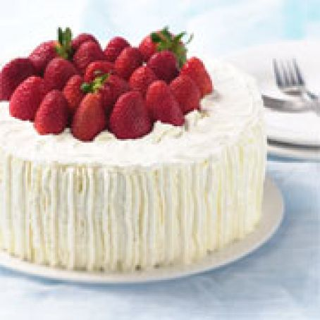 Admirable Strawberry Birthday Cake Recipe 4 5 5 Funny Birthday Cards Online Overcheapnameinfo
