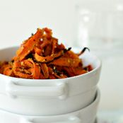 Sesame Ginger Carrot Chips