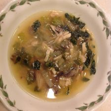 Chinese Cabbage with Chicken Soup