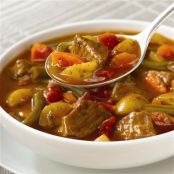 Slow Cookers Vegetable Beef Soup