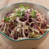Cole Slaw with Mustard and Horseradish