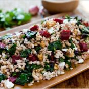 Farro Salad with Beets