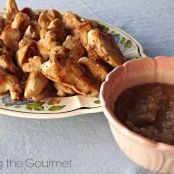 Brined Chicken Breast with Sautéed Onion Dipping Sauce