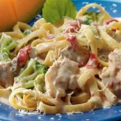 Slow Cooker Easy Chicken Alfredo