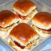Turkey and Stuffing Sliders