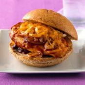 Cheesy BBQ Chicken Sandwich