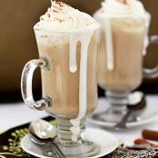 Pumpkin White Spice Hot Chocolate
