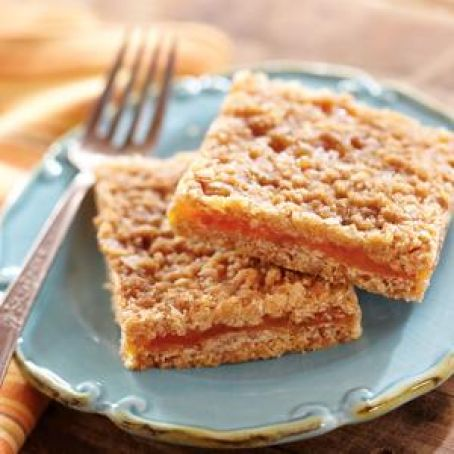 Apricot-Filled Oatmeal Bars