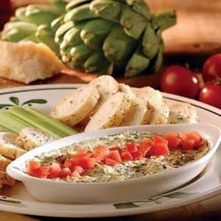 Artichoke Spinach Dip From Olive Garden Recipe 4 5