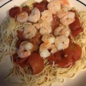 ANGEL HAIR,SHRIMP AL ARRABIATA