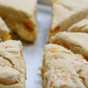 Apricot Sour Cream Scones
