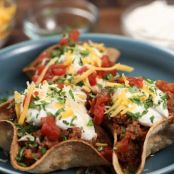GROUND BEEF TACO BOWLS