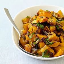 WW - Spice-Roasted Butternut Squash with Onions