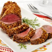 Walnut-Crusted Beef Tenderloin