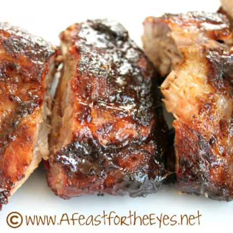 Amazing (and simple) Grilled Baby Back Ribs