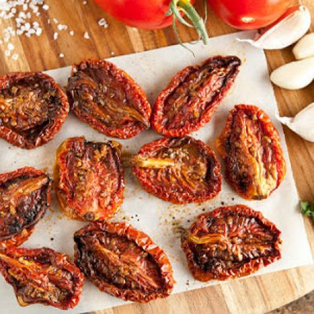 Sweet Oven-Dried Tomatoes