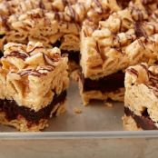 Brownie Batter - Peanut Butter Chex Bars
