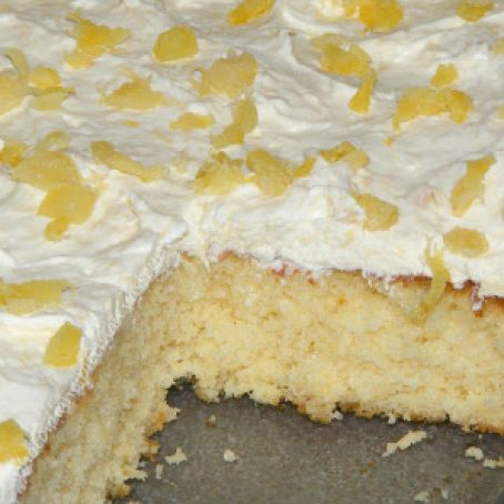 Pineapple Sunshine Cake Recipe 3 9 5
