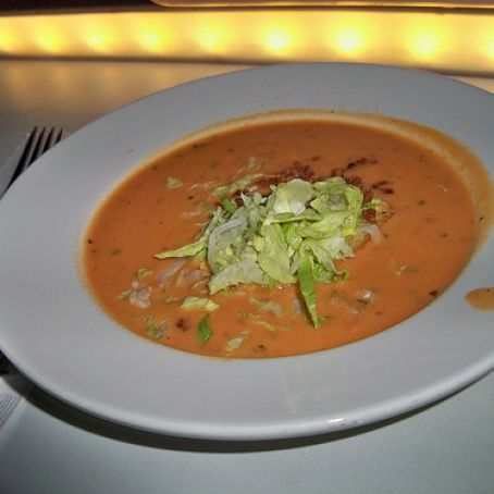 Bacon Lettuce Tomato BLT Soup - Sci-Fi Dine-In Theater, Hollywood Studios Disney