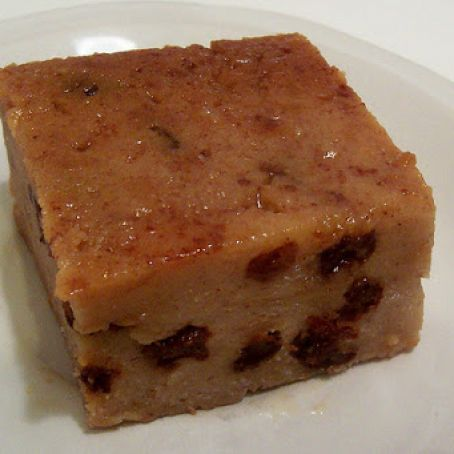 Budin de Pan, Traditional Puerto Rican White Bread Pudding