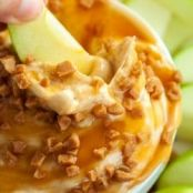 Peanut Butter Fruit & Cookie Dip