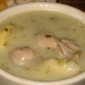 Oyster Artichoke Soup New Orleans Style