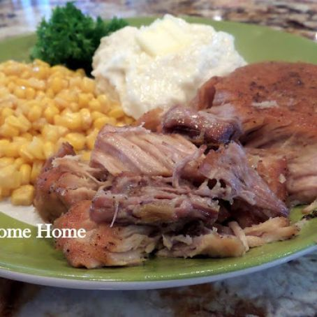 Slow Cooked Boneless Pork Chops