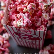 Strawberries & Cream Popcorn