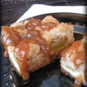 Caramel Apple Cream Cheese Cookie Bars