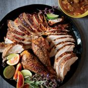 Moroccan-Spiced Turkey With Aromatic Pan Jus