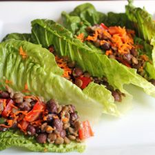 Spicy Black Bean and Lentil Salad