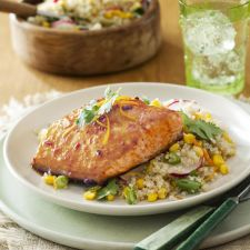 Chipotle-Orange-Glazed Salmon Recipe
