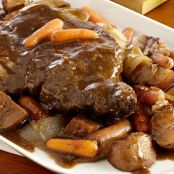 Slow Cooker Red Wine Pot Roast