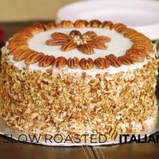 Spiced Carrot Cake with Toasted Pecans