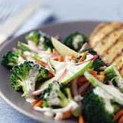 Apple-Broccoli Sensational Side Salad