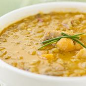 Pork and Lentil Soup