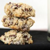 Gluten-Free Vegan Chocolate Coconut Oatmeal Cookies