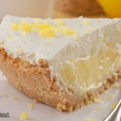 LEMON PIE WITH COOKIE CRUST