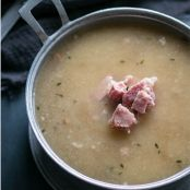 Soup Creamy Cauliflower & Ham-Low Carb