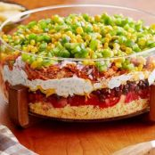 8-Layer Chicken Chili Dip