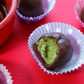 Matcha and Coconut Butter Truffles