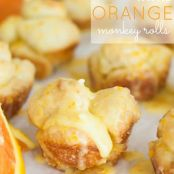 Mini Orange Monkey Rolls