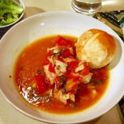 Tilefish in Red Sauce